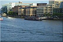 TQ3380 : London Bridge Pier by N Chadwick