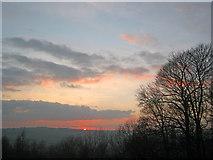 SK2269 : Sunset above Bakewell by Trevor Rickard