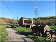 SS9984 : Farm buildings near Llanbad by Gareth James