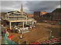 TF6120 : Redevelopment of shopping area in King's Lynn, Norfolk - 3 by Richard Humphrey