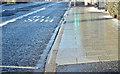J3873 : Greenwood Park EWAY halt, Belfast - February 2018(3) by Albert Bridge