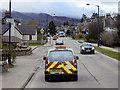 NH8913 : Aviemore, Grampian Road by David Dixon