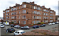 NS5564 : Red sandstone tenement, Ibrox by Thomas Nugent