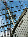 TQ3877 : The Famous Cutty Sark by George Griffin