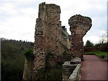 NT2762 : Rosslyn Castle by Alastair Montgomery