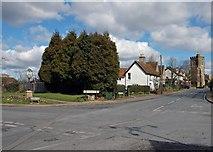 TL0330 : Harlington crossroads. by Peter Roberts