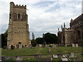 SP9941 : Marston Moretaine Church by Alan Simkins