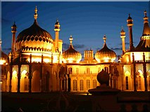 TQ3104 : Brighton Pavilion by night by Elaine Morgan
