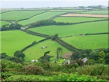 SX4051 : Rame peninsula, looking north from Whitesand Bay Battery by Penny Mayes