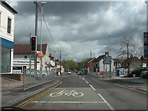 SU1480 : Junction of A4361 and B4005 in the centre of Wroughton by Martyn Pattison