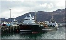 NG7627 : Kyle of Lochalsh Quay by Ben Gamble