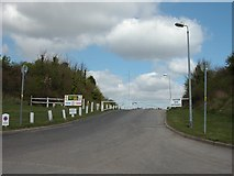 SU6806 : Entrance to the remains of Farlington Redoubt by Martyn Pattison
