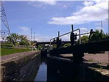 SP1391 : Minworth Top Lock by Nick Atty