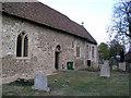 TL4352 : Hauxton church by mym