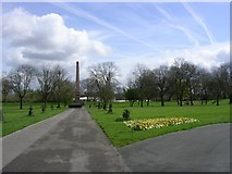 SD8402 : Crumpsall Park by Keith Williamson