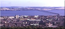 NO3931 : Dundee and the Tay Bridge by Anne Burgess