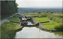 ST9861 : Caen Hill Locks, Devizes by Martin Clark