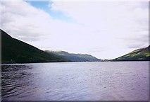 NN6223 : Loch Earn looking west from near Ardvorlich House by Paul Ashwin
