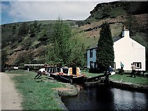 SD9419 : Rochdale Canal by David Stowell