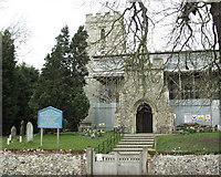 TL2926 : Walkern church by mym