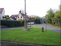 SO8637 : Remains of a Cross, Uckinghall by Bob Embleton