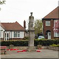 SK3732 : War Memorial, Allenton, Derby by Chris J Dixon