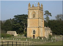 SP0927 : Temple Guiting church by Ben Gamble