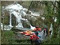 SJ0612 : Dolanog Falls by John Phillips