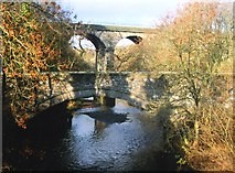 NS8581 : Carron Bridges by Anne Burgess