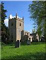 SP3421 : All Saints Church, Spelsbury by neil hanson
