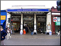TQ2678 : South Kensington Tube Station by Pam Brophy