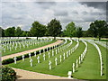 TL4059 : American War cemetery at Madingley by Val Vannet