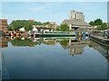 SP8213 : Canal basin at Aylesbury by Stephen Dawson