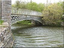 SH6172 : Bridge at Aber Ogwen by dave roberts