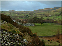 NY1015 : Farmland and Bowness by Ennerdale Water by Stephen Dawson