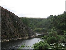 NT2067 : Torduff Reservoir. by Richard Webb