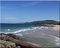 NC2165 : Sandwood Bay looking NE by Jamie Campbell