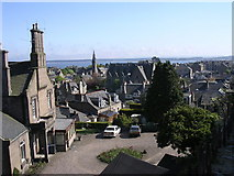NO4631 : Overlooking central Broughty Ferry by Val Vannet