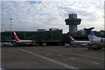 SJ8284 : Manchester Airport from airside by phil smith