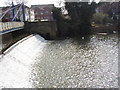 SP3265 : Weir On The Leam by Rob Bradford