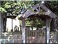 SJ4360 : Bruera, St. Marys Parish Church Gate by chestertouristcom