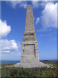 SZ6385 : Culver Down Monument by Steven Muster