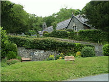 SN6286 : Parish Church, Llandre/Llanfihangel Geneu'r Glyn by Nigel Callaghan