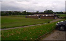 NJ9210 : Aberdeen University Sports Ground & Changing Rooms by Colin Walker