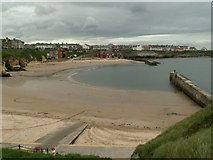 NZ3671 : Cullercoats Bay by Ken Brown