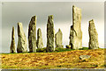 NB2133 : Callanish stone circle by Chris Coleman