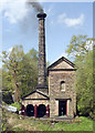 SK3155 : Leawood Pumphouse In Steam by Rob Bradford