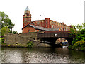 SD5705 : Trencherfield Mill: Wigan by Pam Brophy