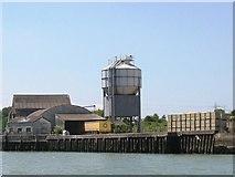 SZ5091 : West Medina Cement Mill by Mark Pilbeam