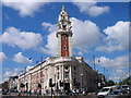 TQ3075 : Brixton Town Hall, London by Stuart Taylor